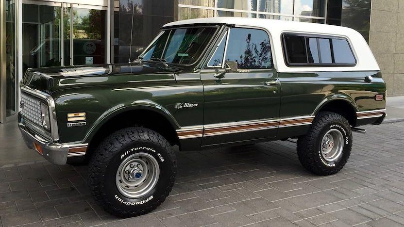 1972 Chevrolet K5 Blazer S118 Houston 2020 In 2020 Classic Chevy Trucks Chevy Suv Chevrolet
