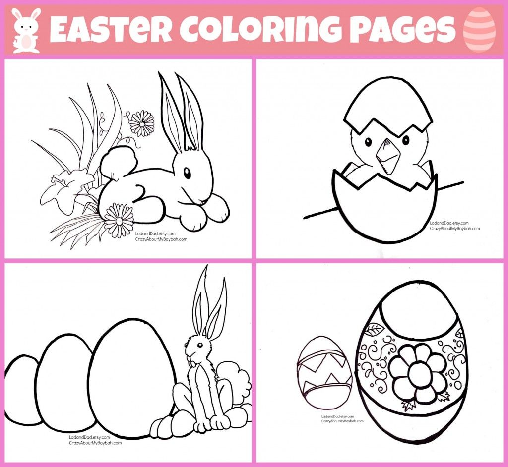 Easter Coloring Pages for Kids | Free Printables via @Lori Lendzion ...