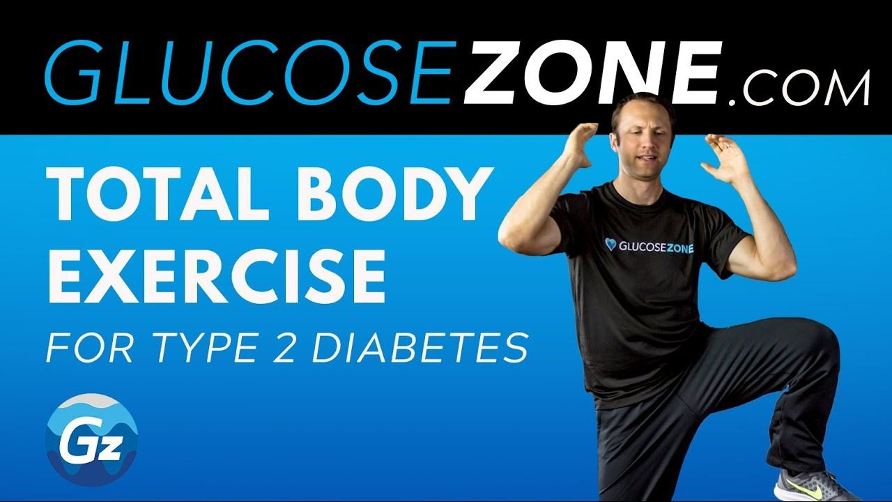 Total Body Exercise for Diabetes Level 2 GLUCOSEZONE