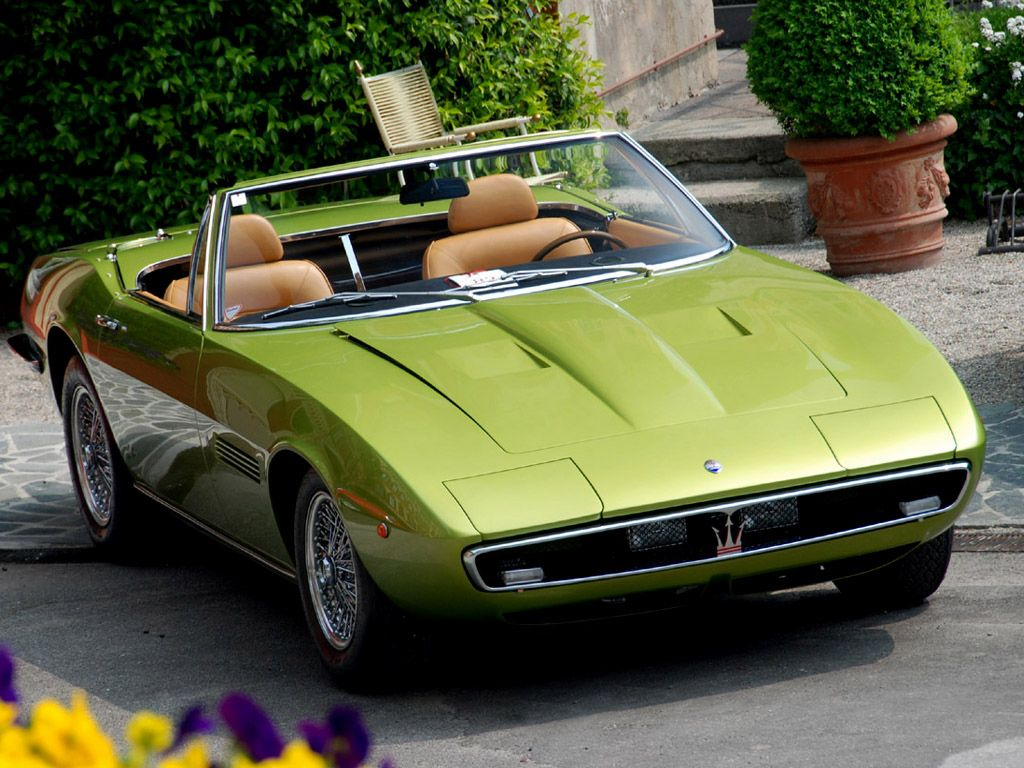 1969 Maserati Ghibli Spider MASERATI