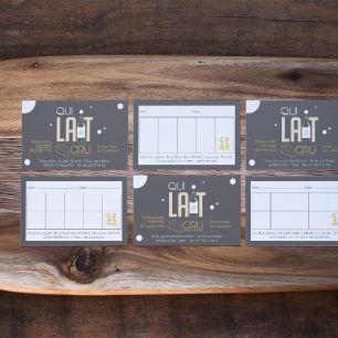logo, identité visuelle, qui lait cru, fromagerie, carte de visite, carte de fidélité