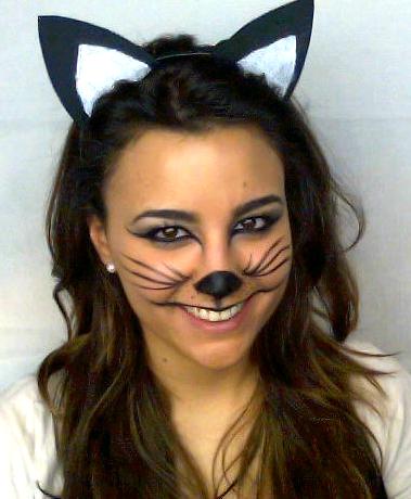 Maquillaje de gata paso a paso Disfraz CarnavalHalloween
