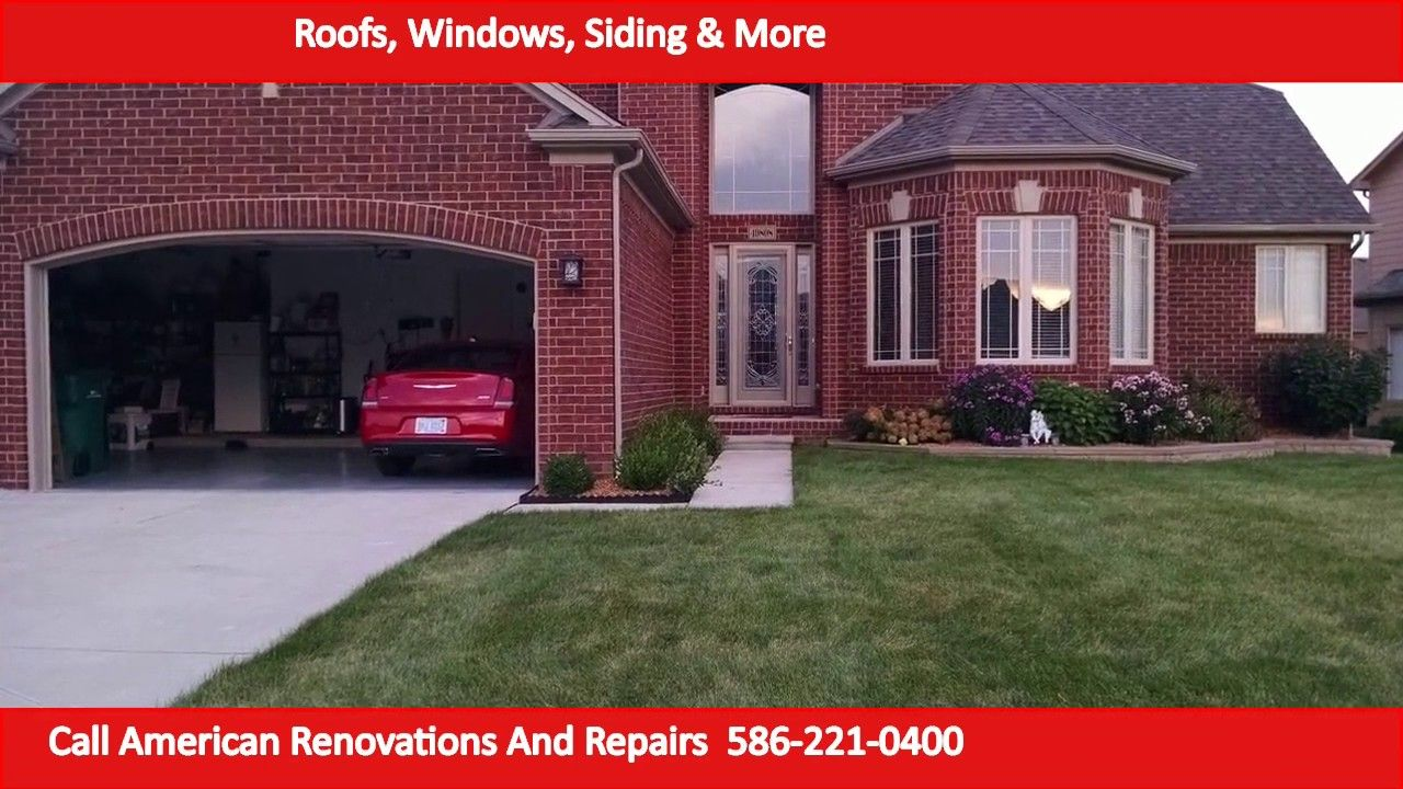 Roofing Company St Clair Shores Replacement Widows St Clair Shores Emergency Roof Repair Roofing Companies Roofing