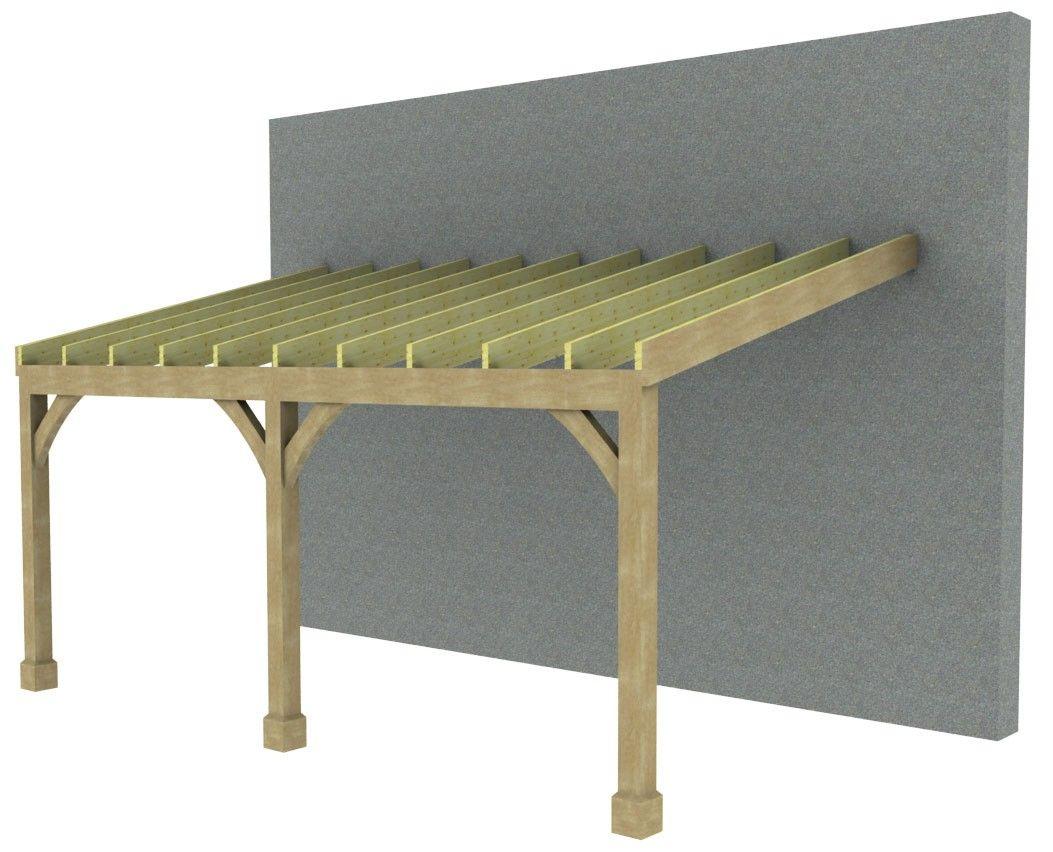 SolidLox Lean To Carport 7m Beautiful outdoor furniture