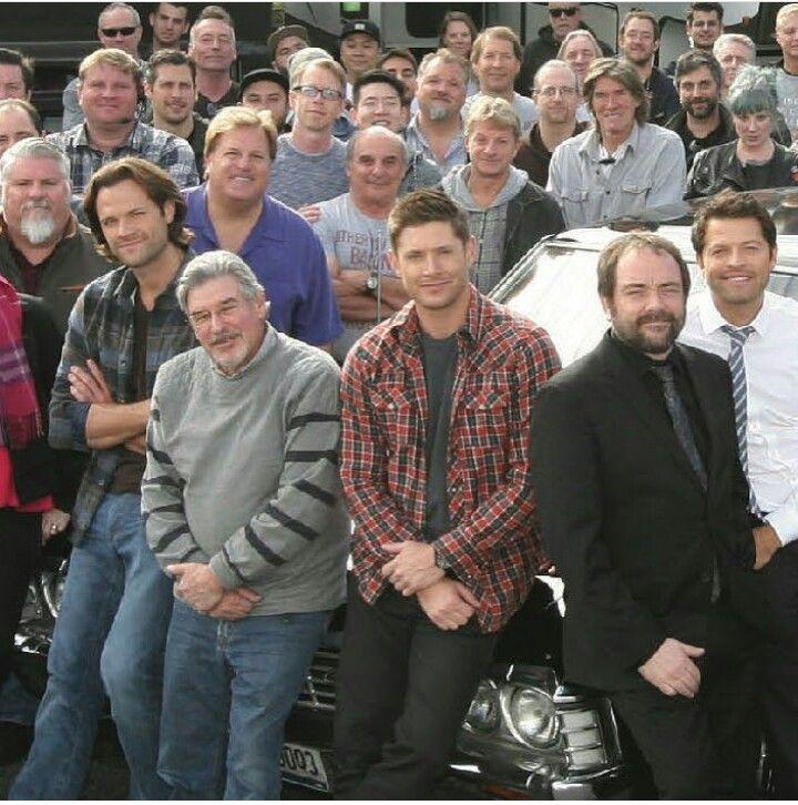 Supernatural Cast And Crew Supernatural Family-3518