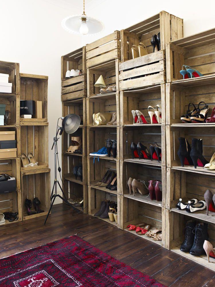 sch n hoher schuhschrank m bel m bel schrank und schuhschrank. Black Bedroom Furniture Sets. Home Design Ideas