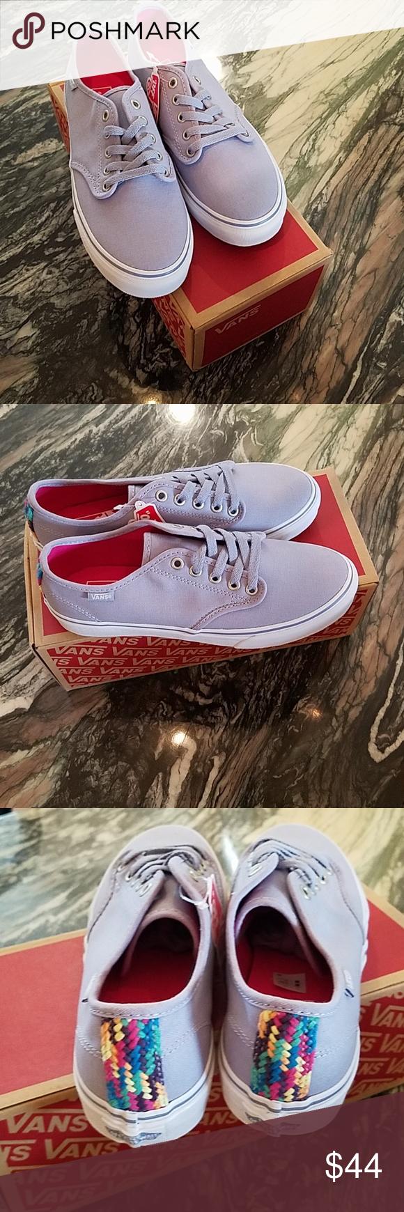 89513595b3 Vans Camden Stripe Sneakers New in Box Vans Camden Stripe Eventide Sneakers  Lace up Style Gray