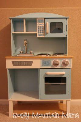Play Kitchen redo - Rocky Mountain Mama