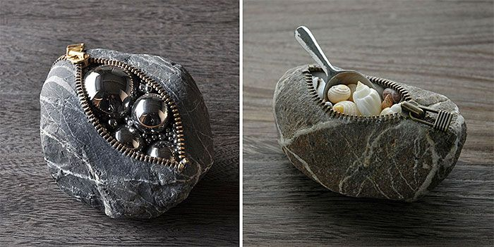 Japanese Artist Creates Incredible Stone Sculptures That Defy The Laws Of Physics