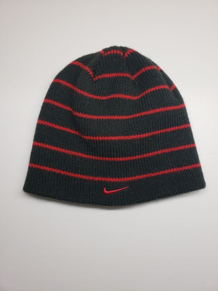 f1e7a19a98e Nike Beanie hat Red And Black  fashion  clothing  shoes  accessories   kidsclothingshoesaccs  boysaccessories (ebay link)