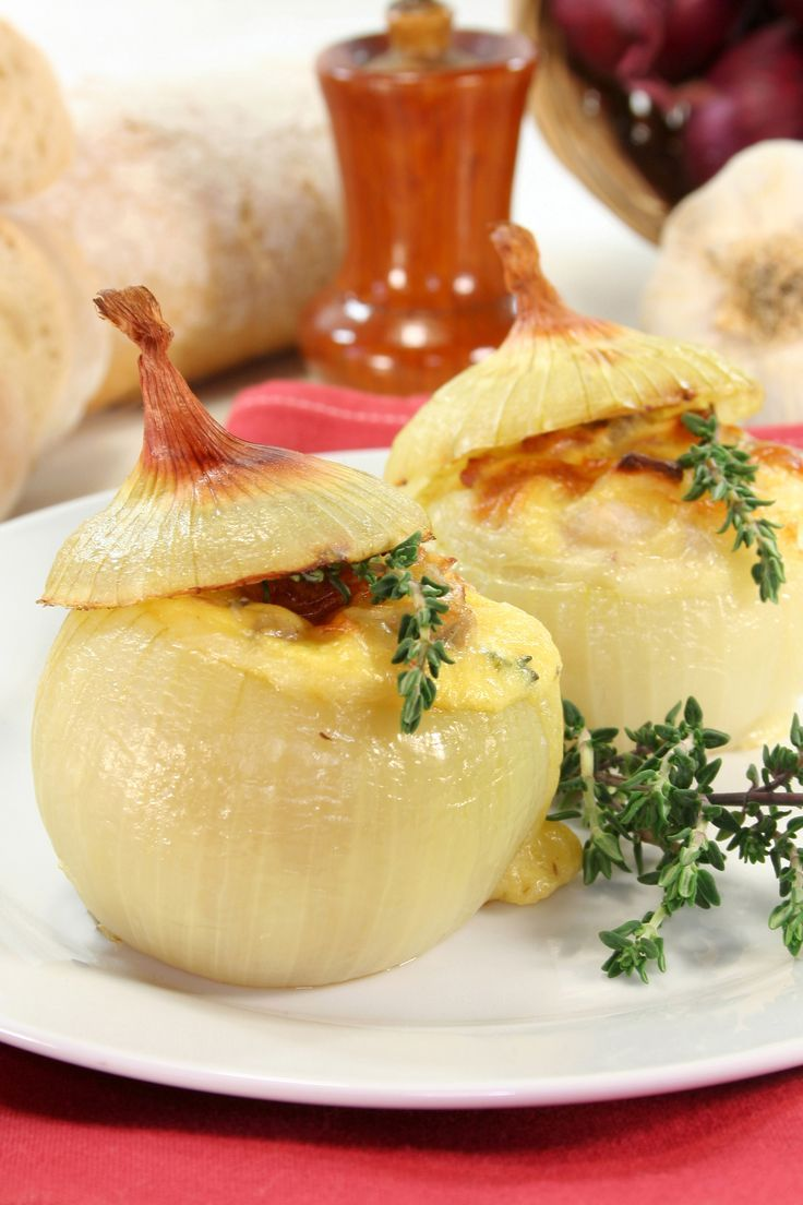 Thanksgiving Stuffed Onions  Recipe found here:  http://www.thedailymeal.com/thanksgiving-stuffed-onions