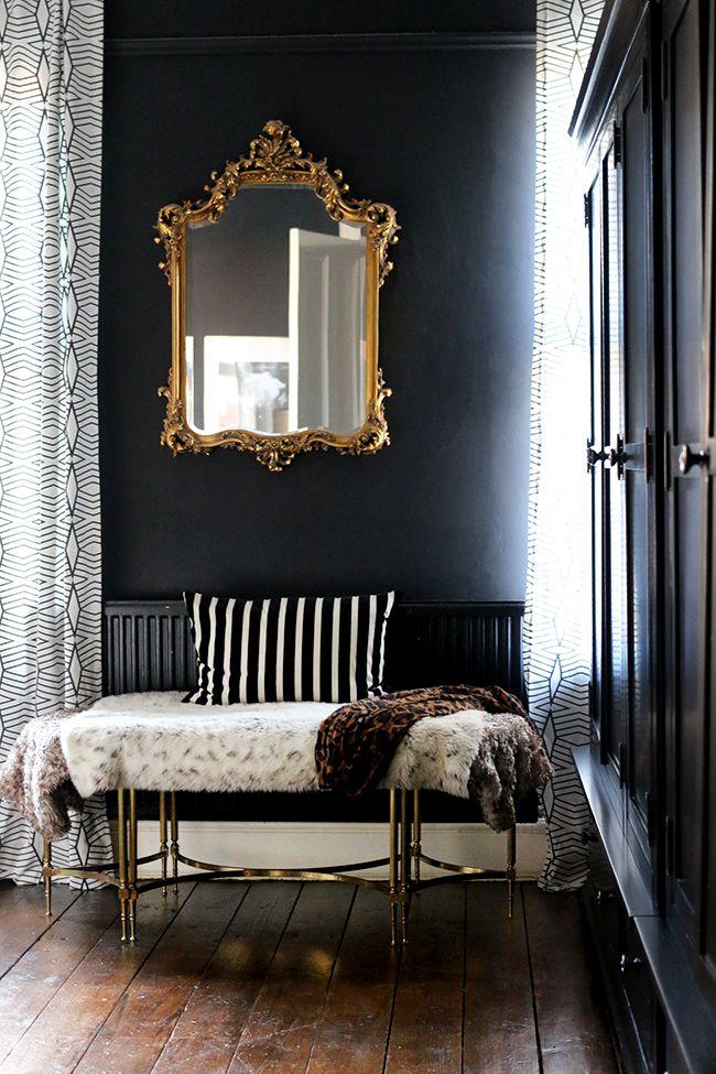 11th Hour Updates Bedroom Flooring Reveal! Black wood