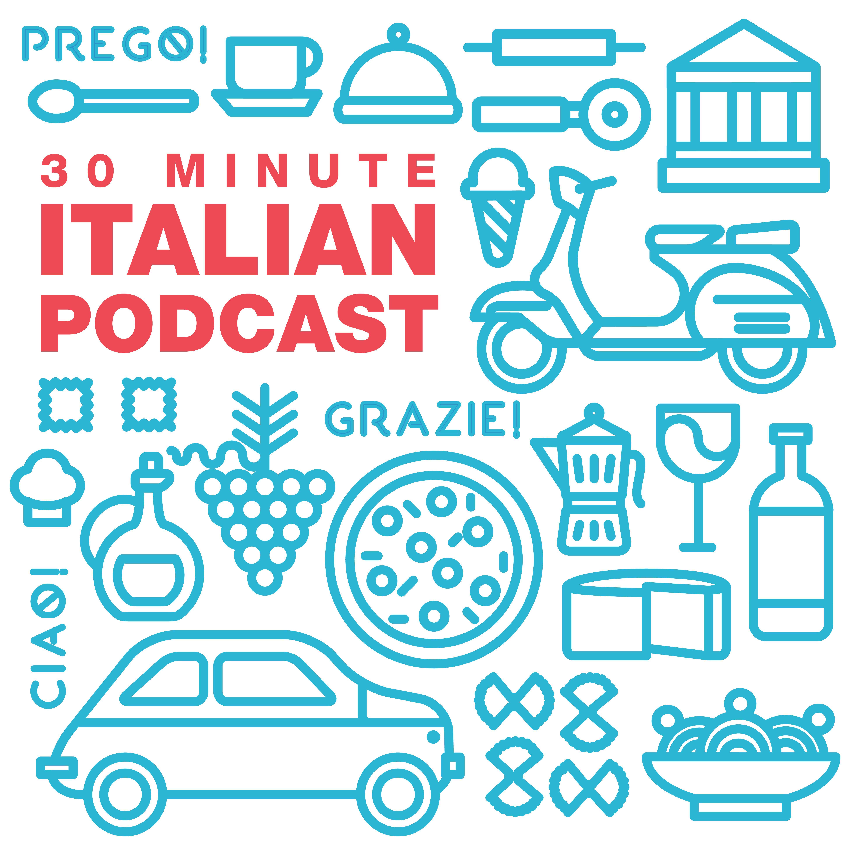 30 Minute Italian logo Learning italian, Italian words