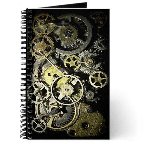 SteamPunk Gears Journal