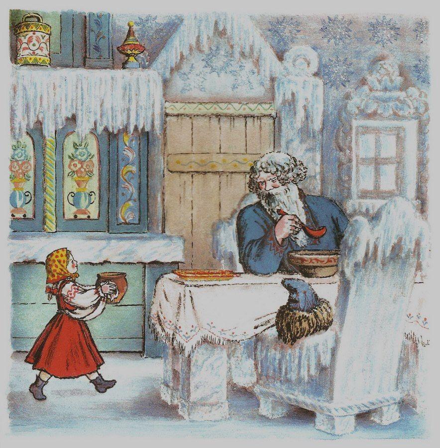 Открытку февраля, план в картинках к сказке мороз иванович