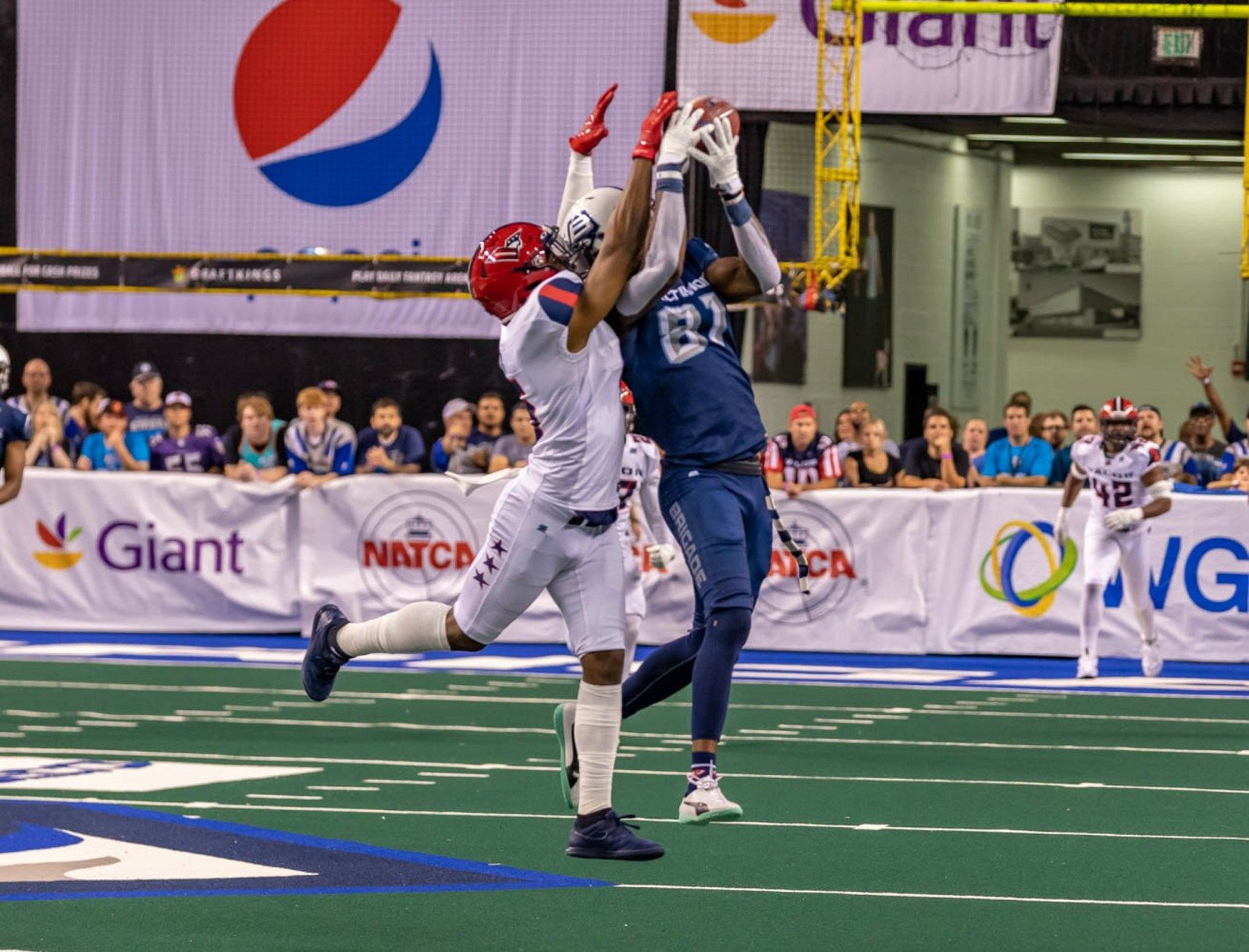 Valor Top Brigade In Final Seconds Arena Football Game Arena Football Images