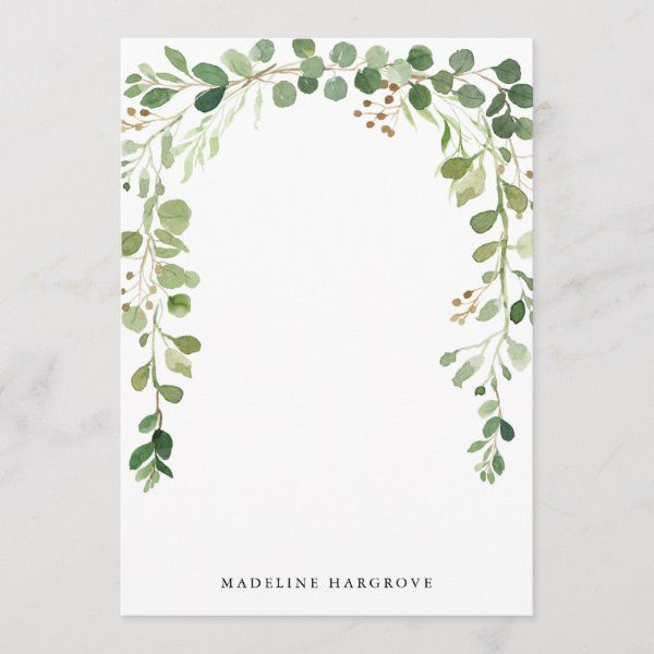 Wild Tropical Palm  Blush Bridal Shower Invitation -   15 wedding Card watercolor ideas