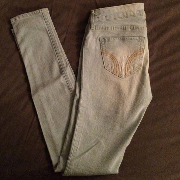 Hollister Skinny Jeans Light wash jeans size 1R Hollister Pants