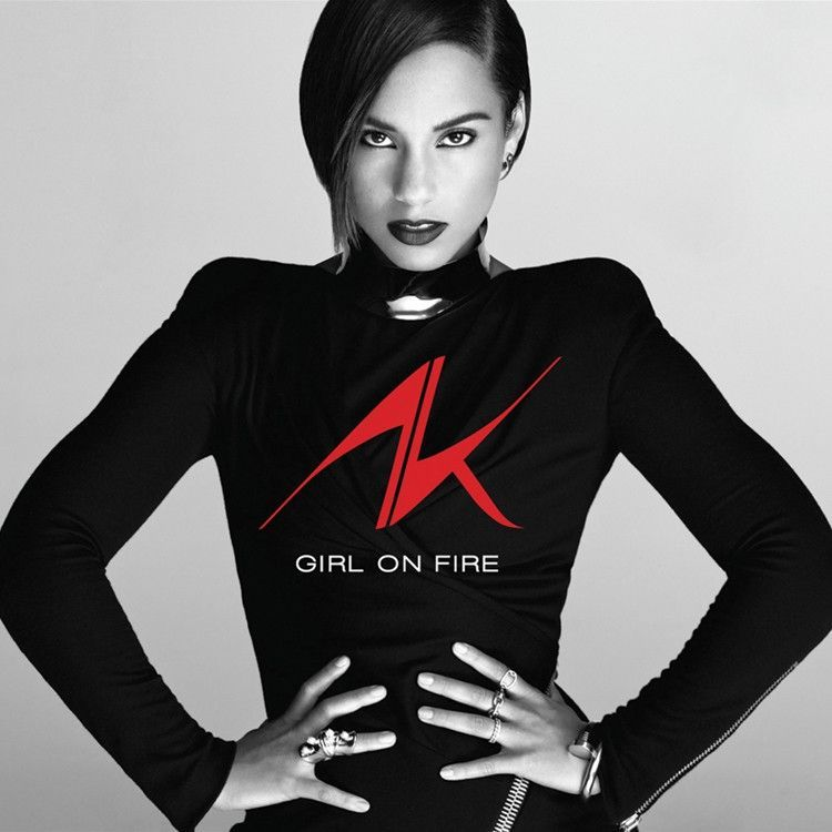 Alicia Keys Girl On Fire Vinyl 2lp Alicia Keys New Music