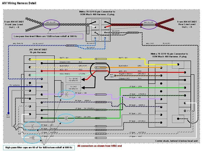 jvc radio wire harness more wiring diagram Wiring JVC Diagram Harness Kd-840Bt
