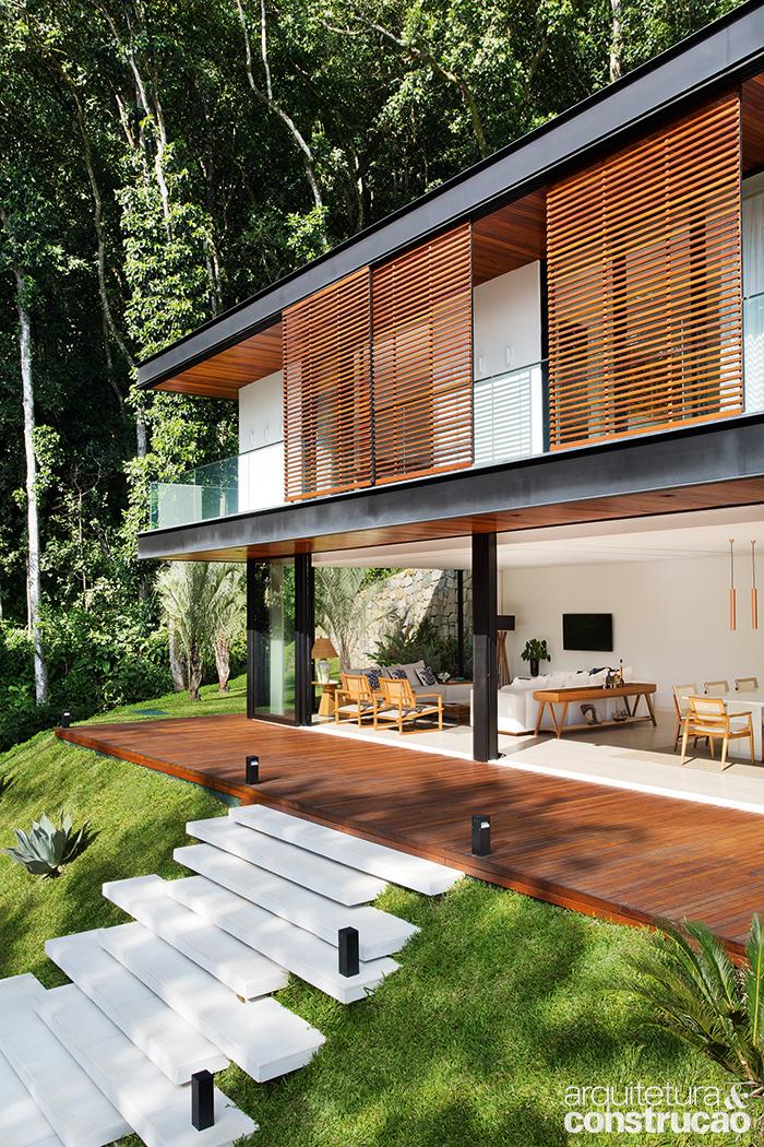 o mar detalhe casa no alto da serra aberta para a paisagem house pinterest haus. Black Bedroom Furniture Sets. Home Design Ideas