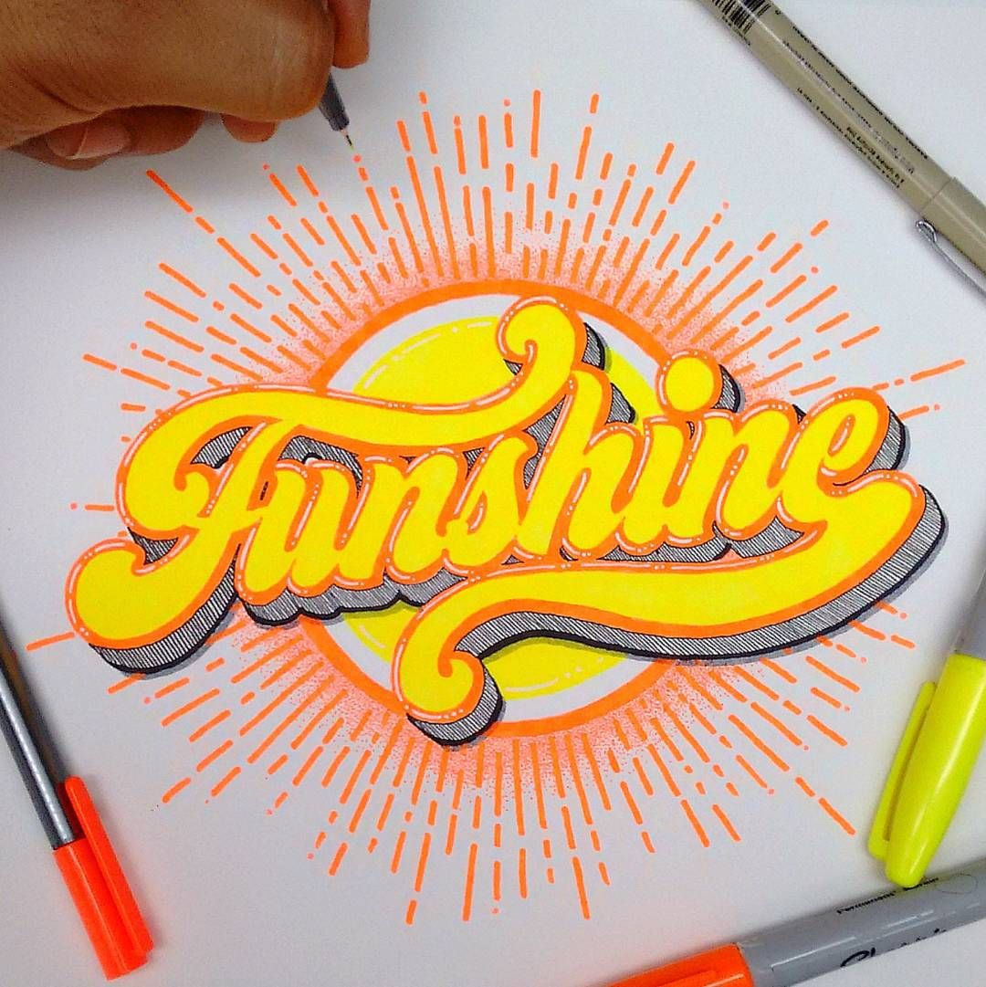 Graffiti Lettering By Kyle Tatum On Type Art & Design