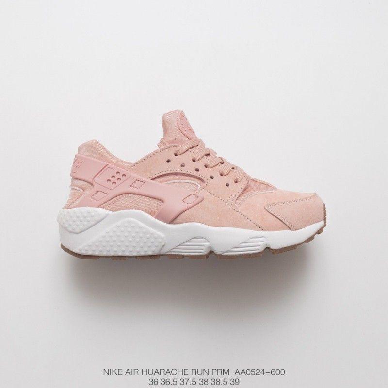 81.34 AA0524-600 Premium Nike Air Huarache Run Premium First Wallace  Vintage Jogging Shoes Particle c57b5459d7