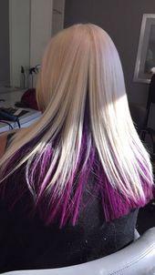 Super Hair Pink Peekaboo Platinum Blonde Ideas Blonde Hair Ideas Peekaboo Pink Platin Peekaboo Hair Pink Underneath Hair Platinum Blonde Hair