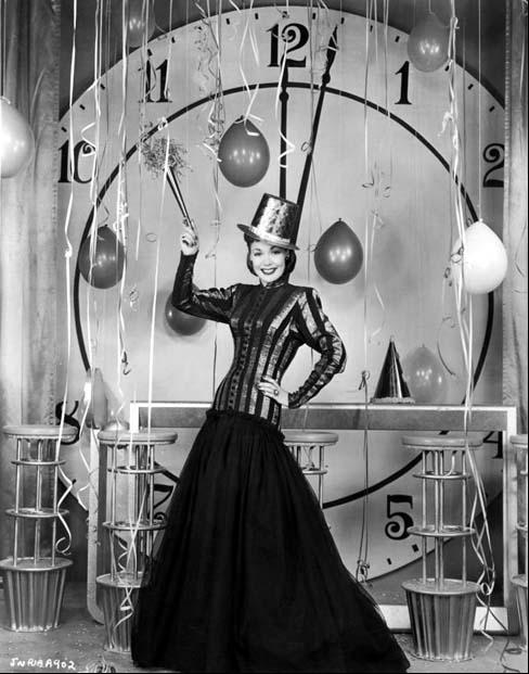 Vintage New Year\u0027s Eve vintage new year 1940s 1950s