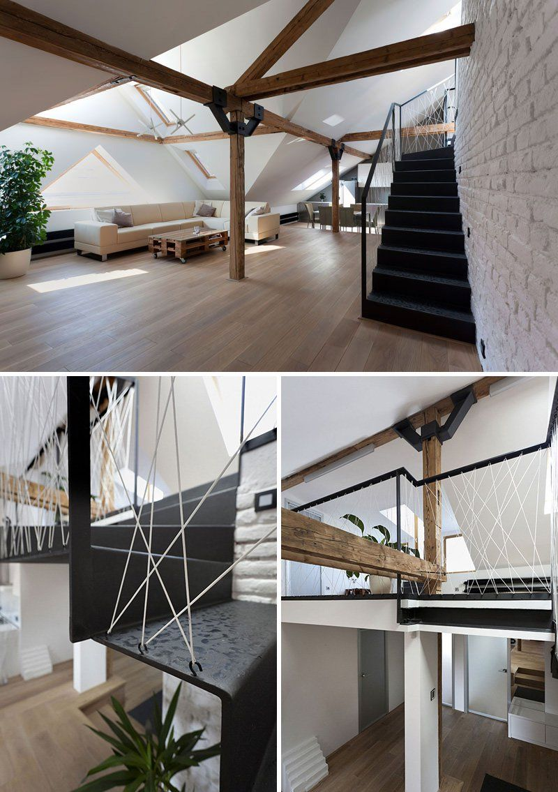 6 originales barandillas de cuerdas pensadas para - Barandillas para escaleras interiores modernas ...