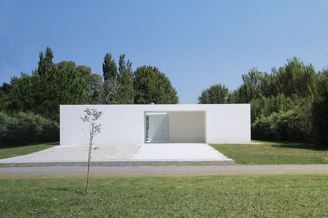 The Minimalist Residence Casa Haras Del Sol By The Argentine Nicolás Pinto  Da Mota Is A