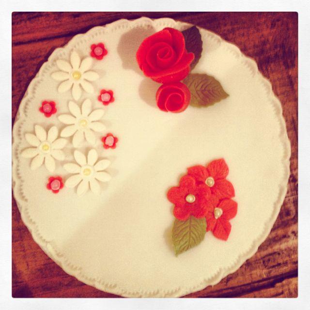 Class one: sugar paste flowers