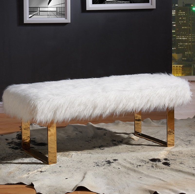 Ager Upholstered Bench