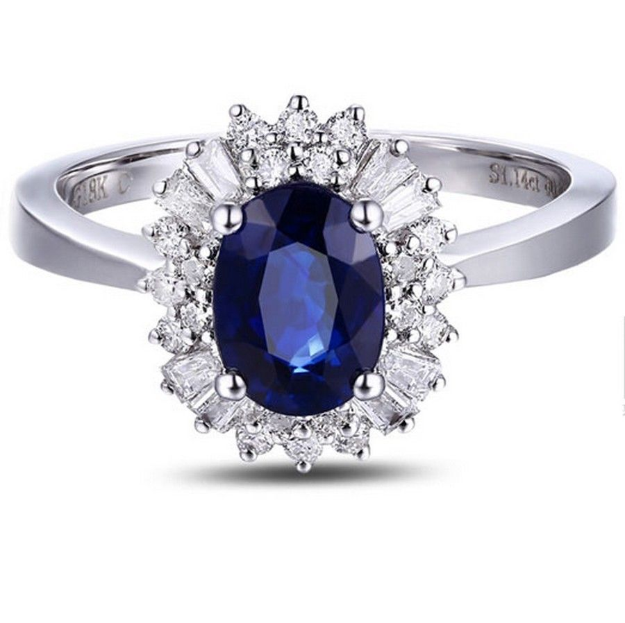 14K or Blanc créé Alexandrite Ring Coussin Cut 2.50 cts Tailles 5 To 9