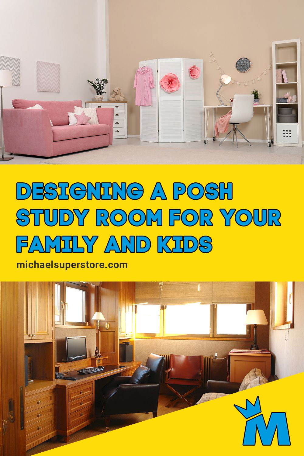 Decent Study Rooms: Designing A Posh Study Room For Your Family And Kids