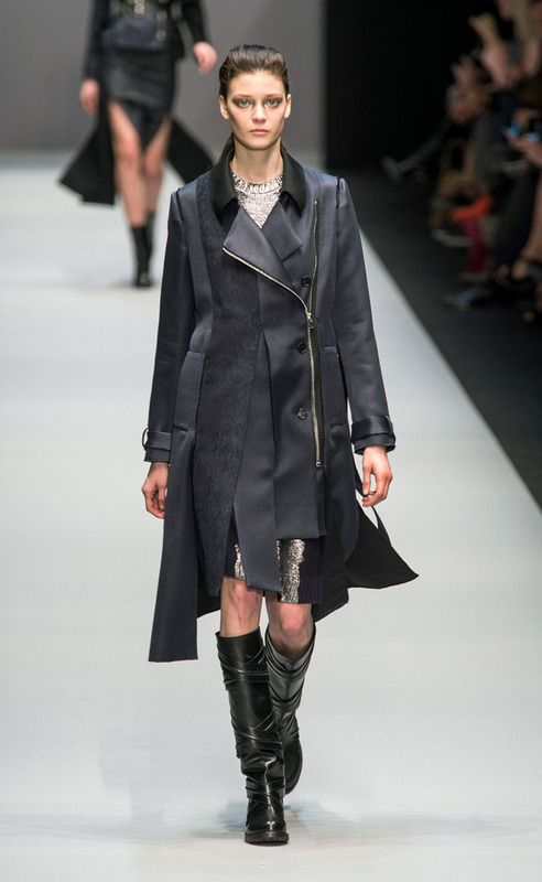 Guy Laroche - #PFW Fall/Winter 2015/2016 www.so-sophisticated.com
