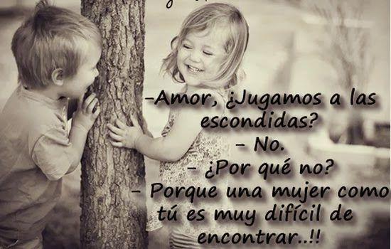 Ninos Felices Con Frases 1 Frases Tiernas Amor Frases De Amor