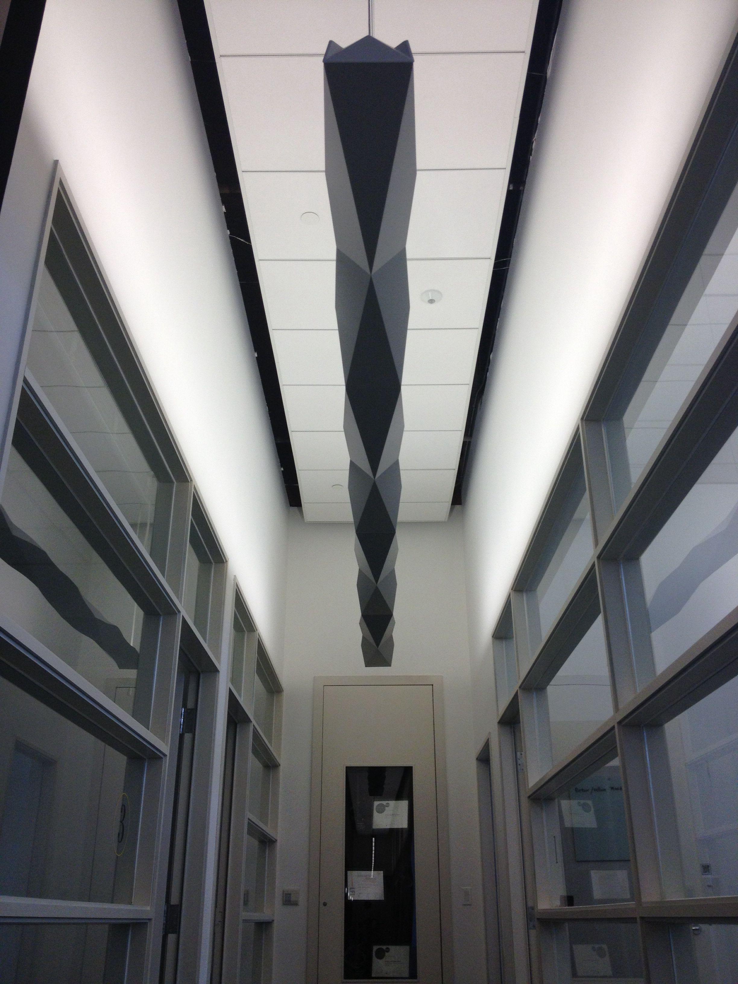 Peerless Origami Linear Pendant Lighting Indirect Lighting Pendant Lighting