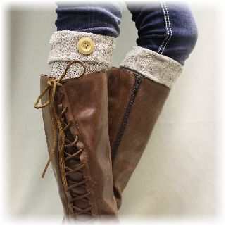 BC1 ASPEN Boot Cuffs  Boot Toppers in Alpine Oatmeal