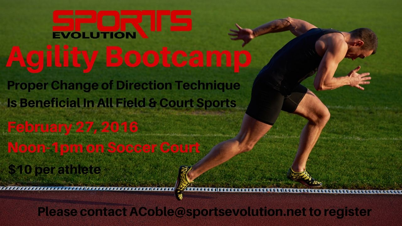 Condition like an athlete with agility training with