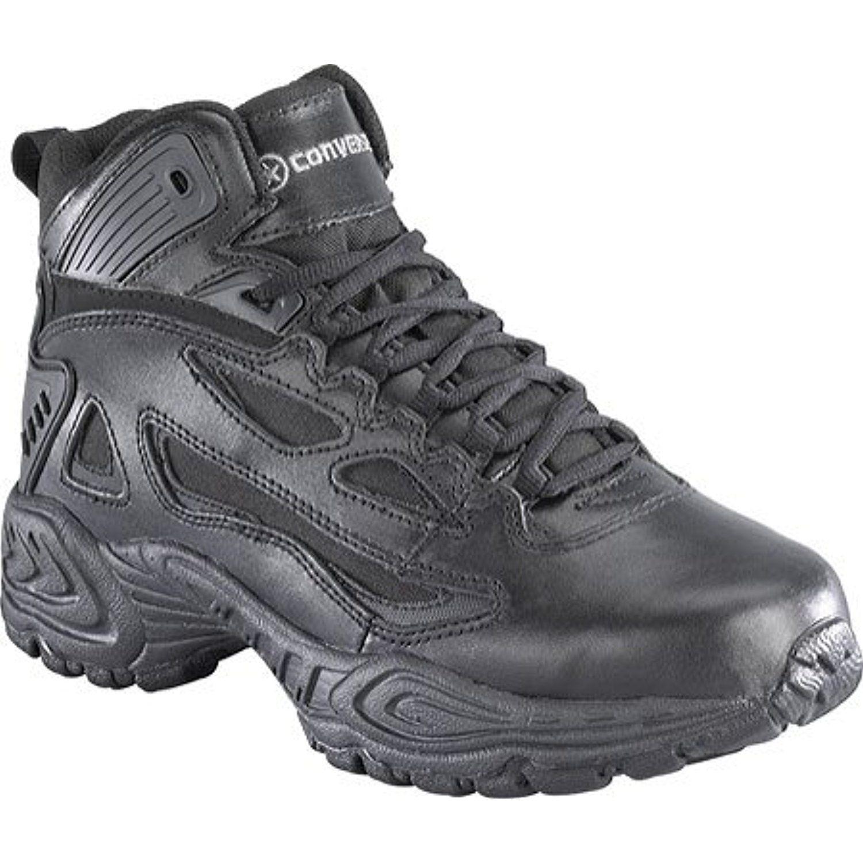 Boots: Women's Athletic Hi-Top Work Boots C840 - 10.5W