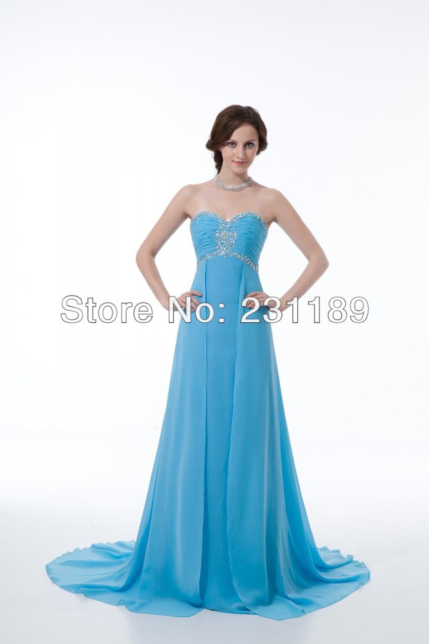 Free shipping 2014 new European high-end slit prom dresses fashion ...