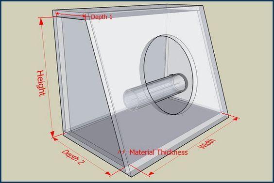 Enclosure Volume Calculator Subwoofer Box Calculator Diy Subwoofer Box Car Subwoofer Box Subwoofer Box Design