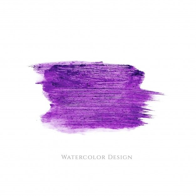 Download Purple Watercolor Brush Design For Free Watercolor