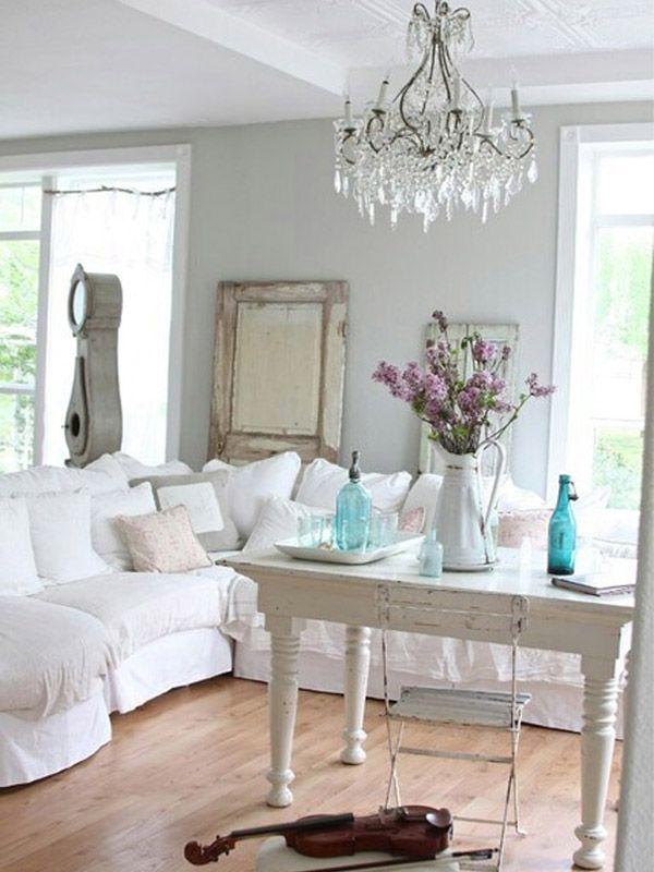 12 id es de d co shabby chic pour un int rieur plus frais et styl shabby id es de d co et. Black Bedroom Furniture Sets. Home Design Ideas