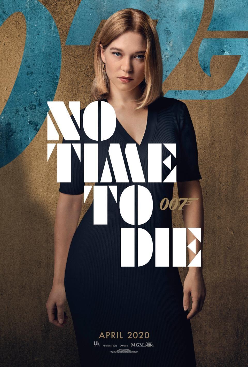 No Time To Die Posters The Next James Bond Movie Has One Big Advantage Over Spectre Bond Movies James Bond Movies Latest James Bond Movie