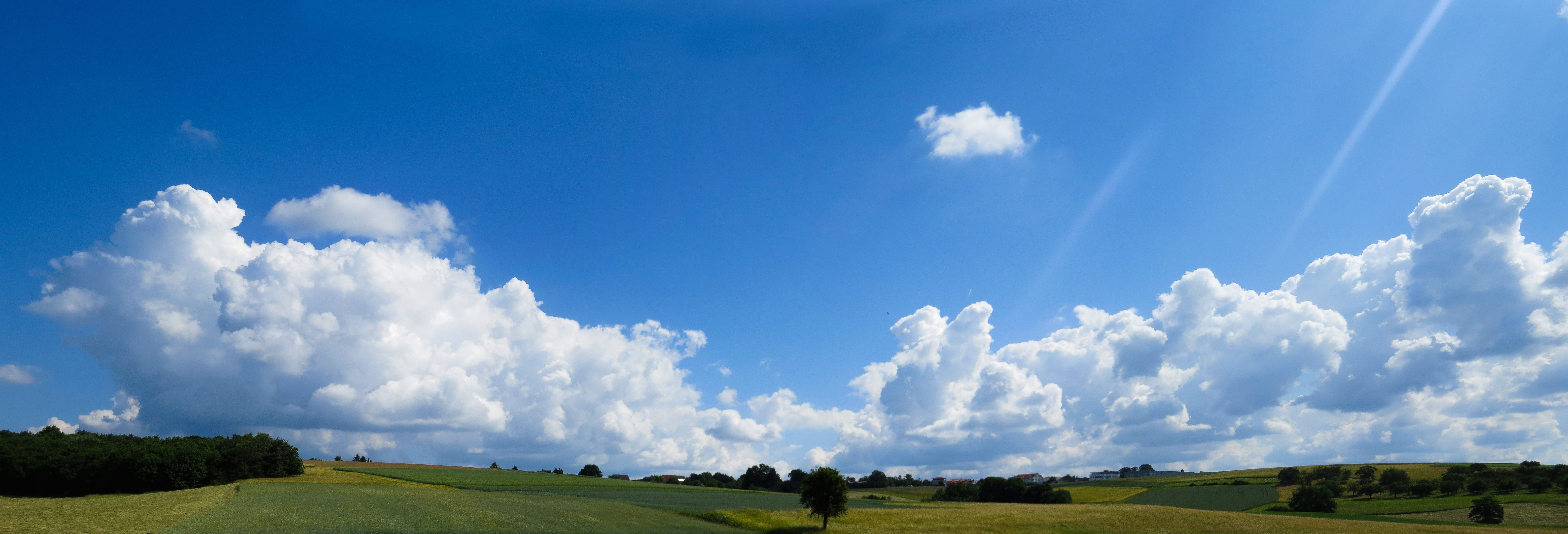 Royalty Free Photo Landscape Nature Sky Clouds Panorama Meadow Field Far Deep Forest Mood Swiss Francs Landscape Royalty Free Photos Sky And Clouds