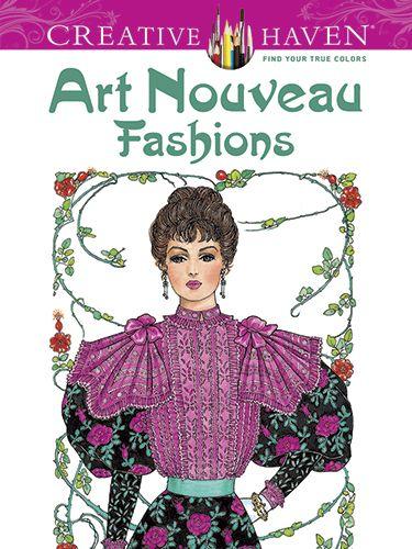 Yhst 137970348157658 2374 1197391013 375 500 Fashion Coloring Book Art Nouveau Fashion Creative Haven Coloring Books