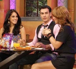 sandra echeverria y david zepeda Desayunando con Sandra ...