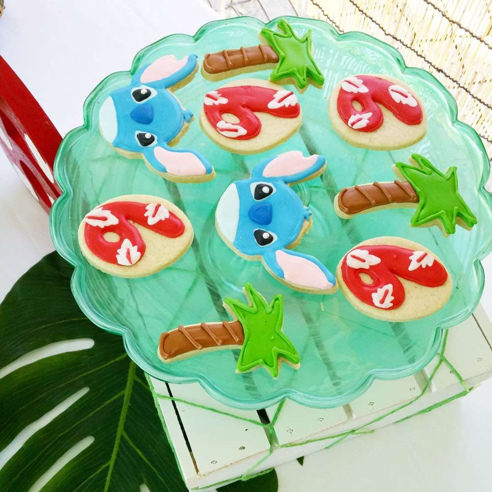 Lilo And Stich Birthday Party Ideas In 2019 Cookies